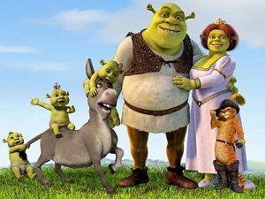 La famiglia di Shrek