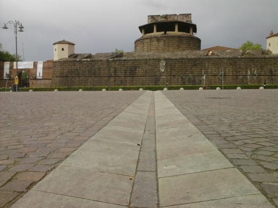 Fortezza da Basso - Firenze (foto di Carlo Menzinger- Aprile 2013)