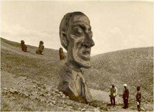 statua Lovecraft