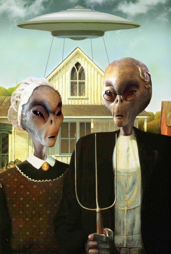 Contadini alieni