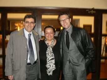 Sergio Calamandrei, Simonetta Bumbi e Carlo Menzinger