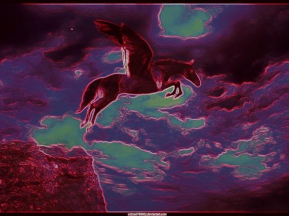 Flying_Horse neon
