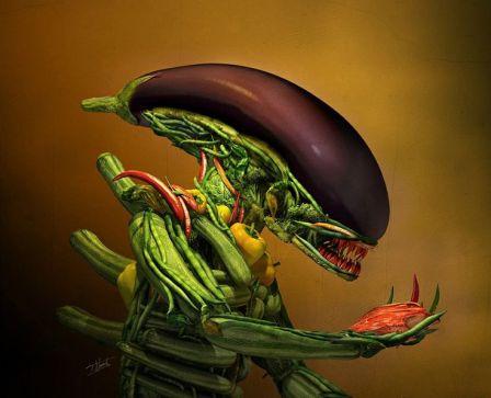 Risultati immagini per alieni vegetali