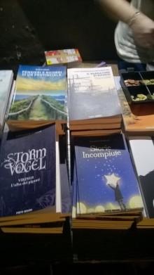 Alcuni volumi al Porto Seguro Show. Quali riconoscete?