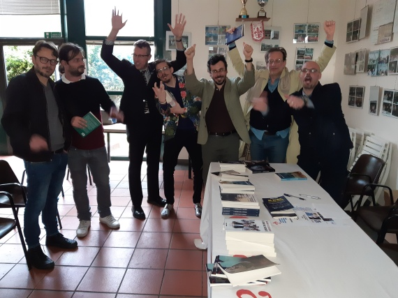 Roberto Balò, Elvis Dona, Carlo Menzinger, Vincenzo Gualano, Massimo Acciai, Riccardo Olivieri, Raimondo Preti