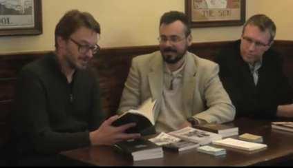"""Roberto Balò, Massimo Acciai Baggiani e Carlo Menzinger a una delle presentazioni di """"Nessun altro"""""""